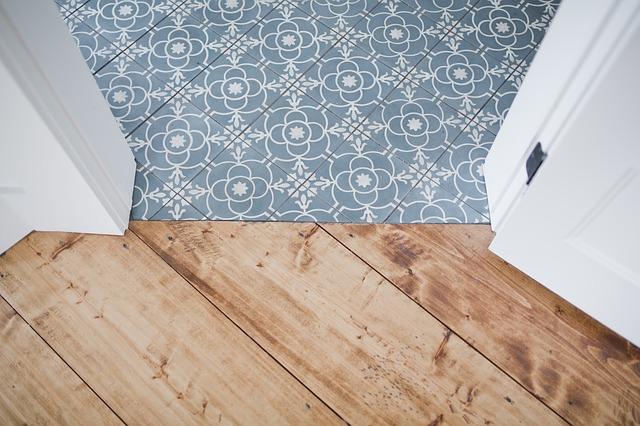 Keramische vloer