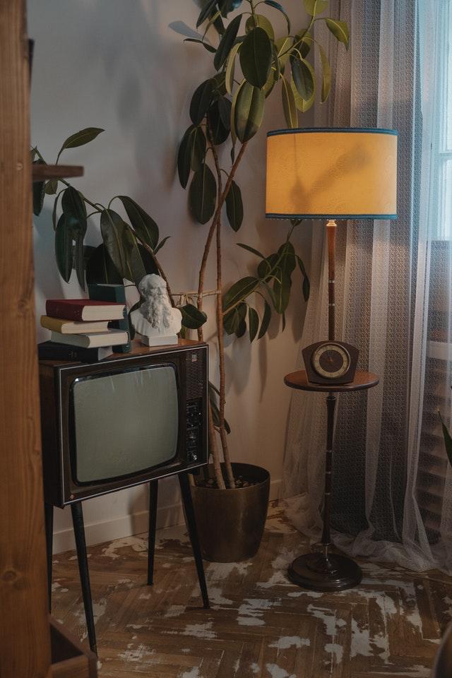 antieke lamp