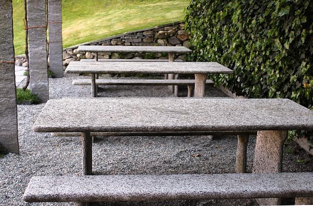 natuursteen tafel onderhouden